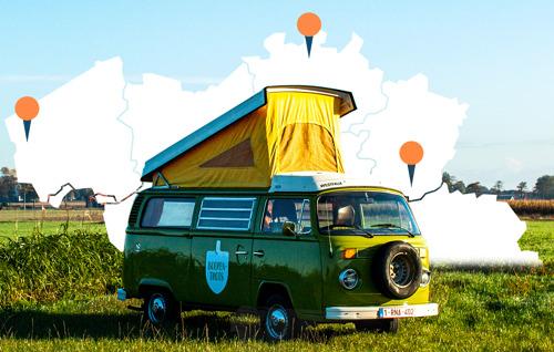 Hotel Hungaria gaat op weekend met de #Boerentrots camper