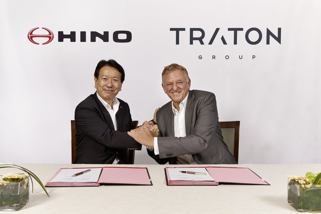 "TRATON AG and Hino Motors Ltd. (""Hino"") today announced new details on their strategic partnership. Both partners have agreed on two strategic initiatives: to join forces in e-mobility and the plan to establish a procurement joint venture."