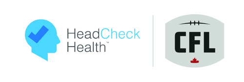 CANADIAN FOOTBALL LEAGUE IMPLEMENTS NEW PLAYER HEALTH AND SAFETY MEASURES WITH HEADCHECK HEALTH