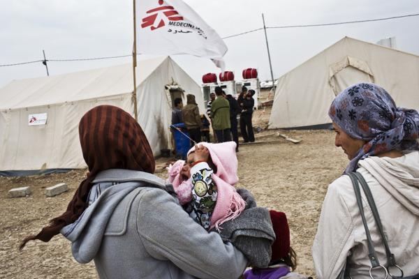 Preview: Miljoenen levens op het spel als kanalen voor grensoverschrijdende hulp in Syrië worden gesloten