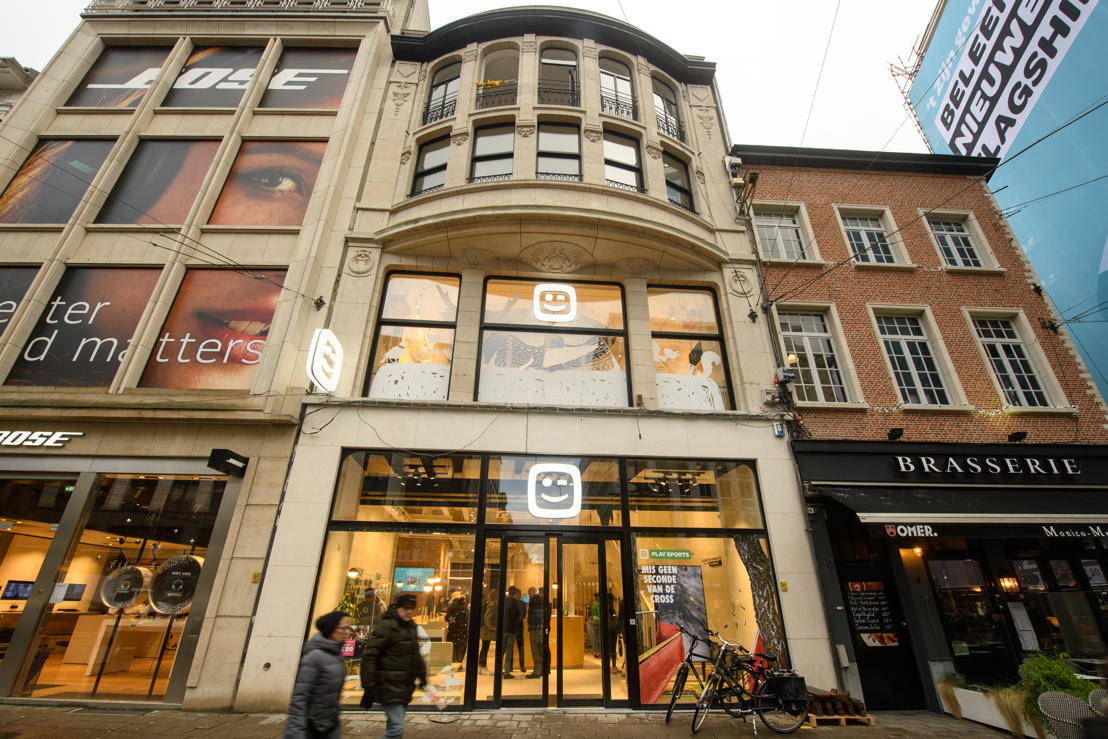 Flagship store Antwerp