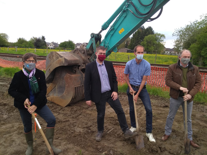 Preview: Provincie start volgende werf op fietssnelweg Oosterzele-Zottegem
