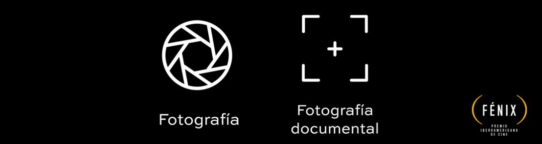 CONOCE A LOS NOMINADOS EN LAS CATEGORÍAS DE FOTOGRAFÍA DE FICCIÓN Y FOTOGRAFÍA DOCUMENTAL DE LA SEGUNDA EDICIÓN DEL PREMIO IBEROAMERICANO DE CINE FÉNIX®