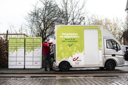 La ville de Leuven et bpost unissent leurs forces pour le lancement d'une deuxième Ecozone en Flandre