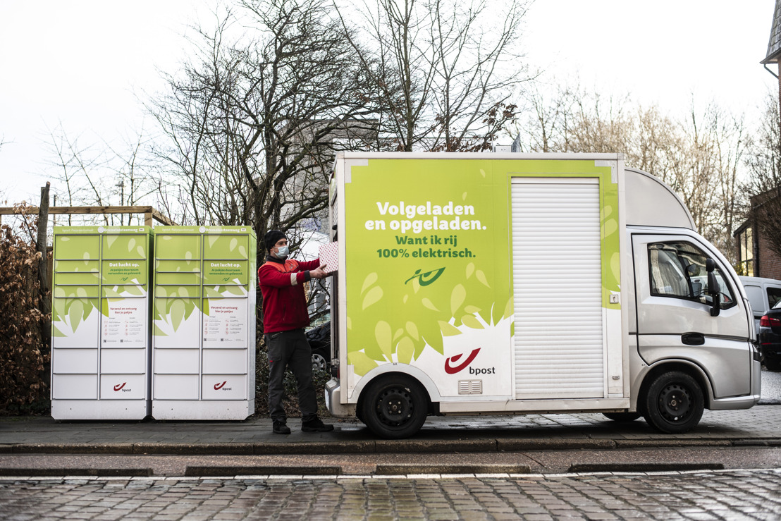 The City of Leuven and bpost join forces on second Flemish Ecozone