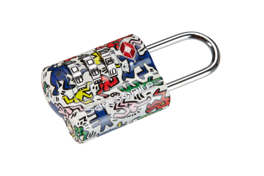 Keith Haring by Samsonite - Combination Lock €16