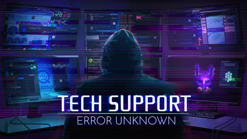 NEW MODES UPDATE AND WEEKLONG 25% DISCOUNT ON STEAM FOR 'TECH SUPPORT: ERROR UNKNOWN'