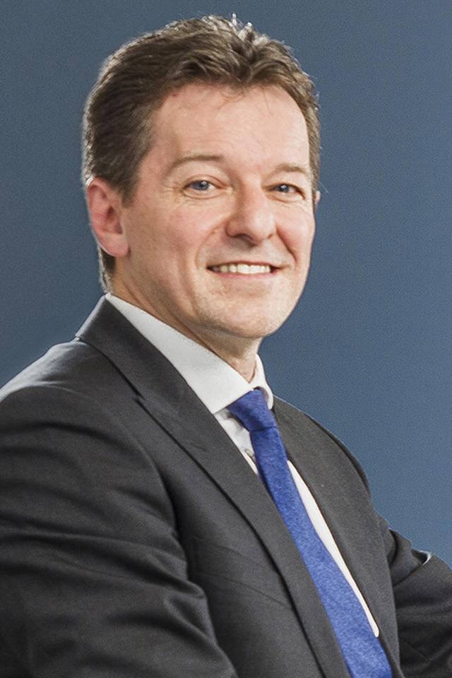 Johan Thijs, CEO van de KBC-groep