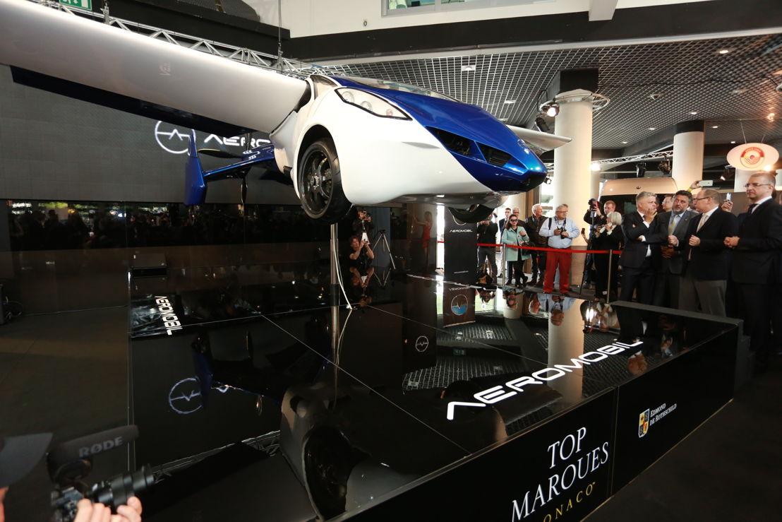 AeroMobil 3.0 prototype at the Top Marques Monaco 2015