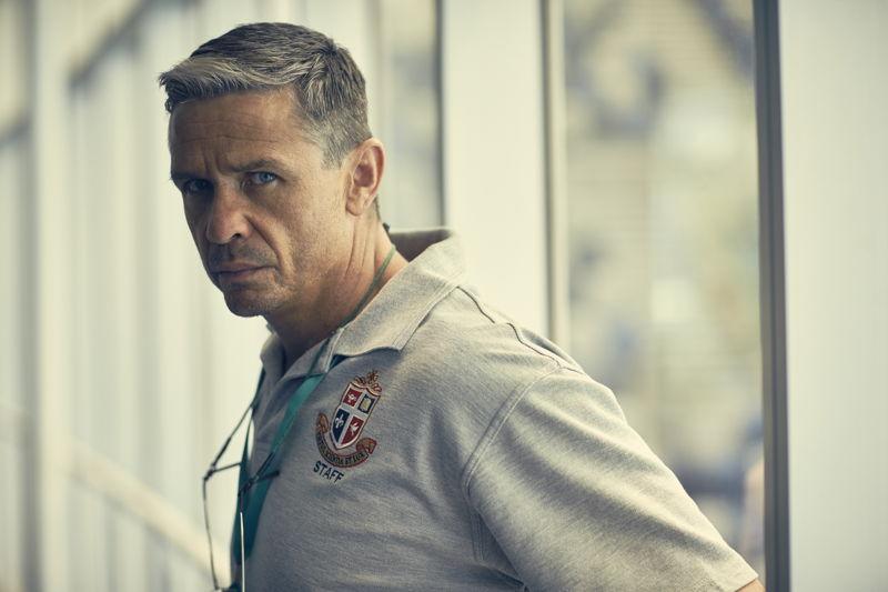 Barracuda - Matt Nable as coach Frank Torma
