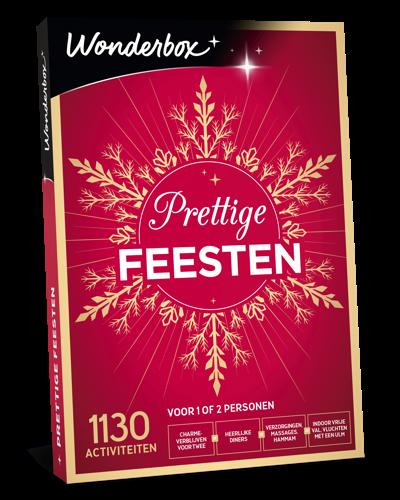 De geschenkdoos 'Prettige feesten' van Wonderbox: plezier, welzijn, avontuur en nog veel meer!
