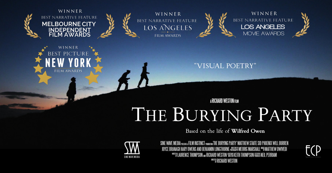Multi-Award winning Wilfred Owen film 'The Burying Party' holds centennial screenings nationwide
