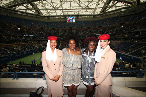Emirates adds glamour to tennis action at the 2016 US Open