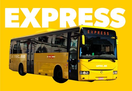 Le TEC lance son réseau Express