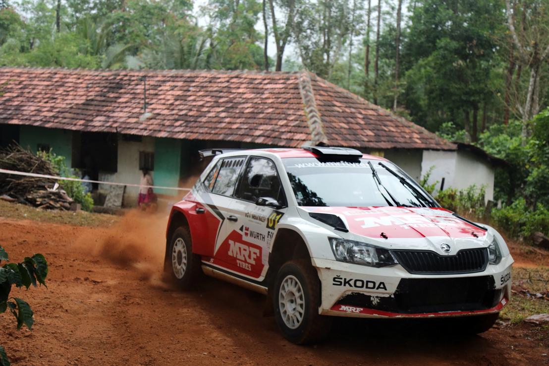 Win number six of the APRC season: Champion Gill and ŠKODA triumph in India