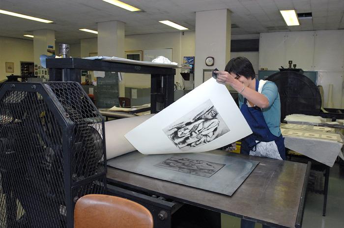 KBR organise des ateliers graphiques dans sa Chalcographie à l'occasion du Picture Festival de Bruxelles