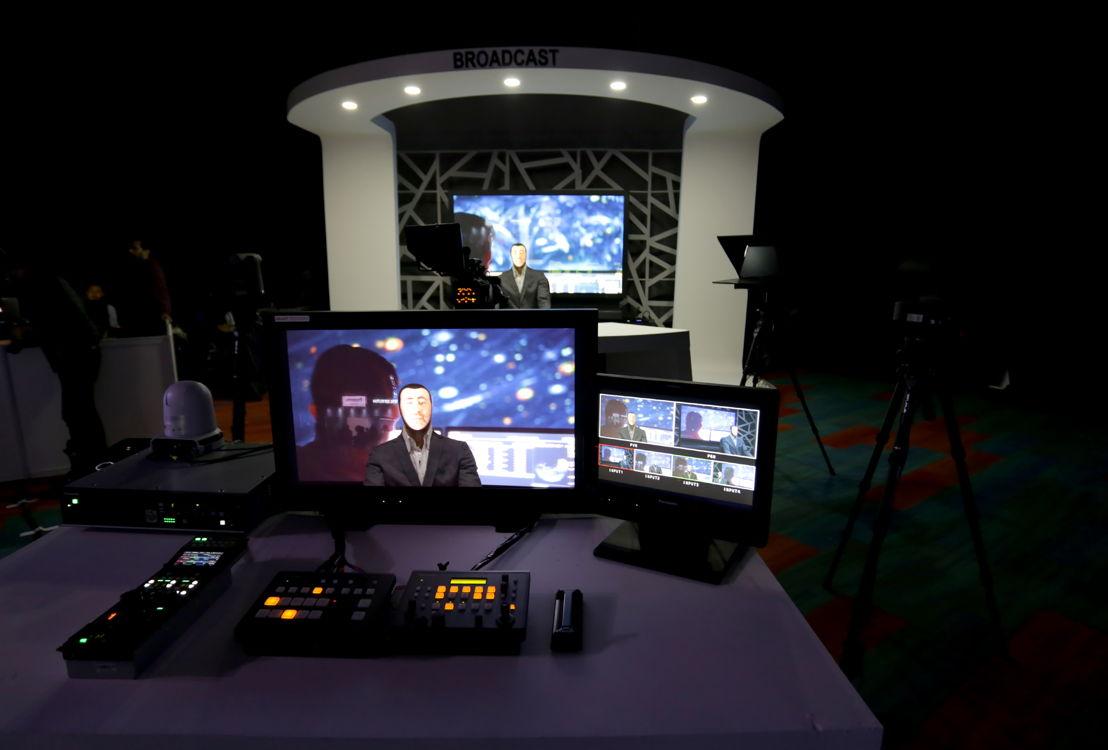 Soluciones de estudio, monitores y switchers de producción
