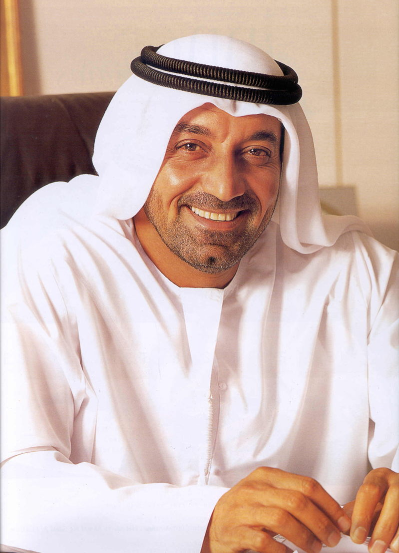 His Highness Sheikh Ahmed Bin Saeed Al Maktoum, Chairman and Chief Executive of Emirates Airline and Group, Chairman of Dubai Airports and President of the Dubai Civil Aviation Authority.