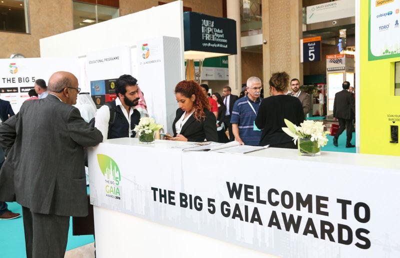 The Gaia Awards at The Big 5 2016