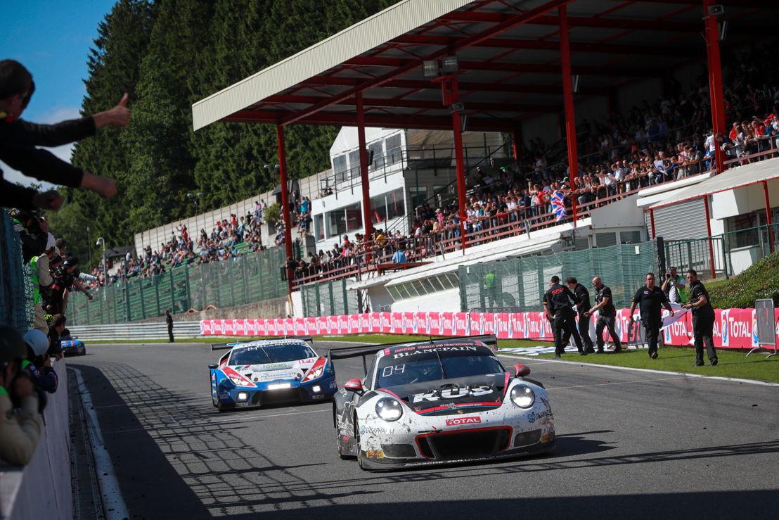 911 GT3 R (117), KÜS Team75 Bernhard: Michael Christensen, Kévin Estre, Laurens Vanthoor