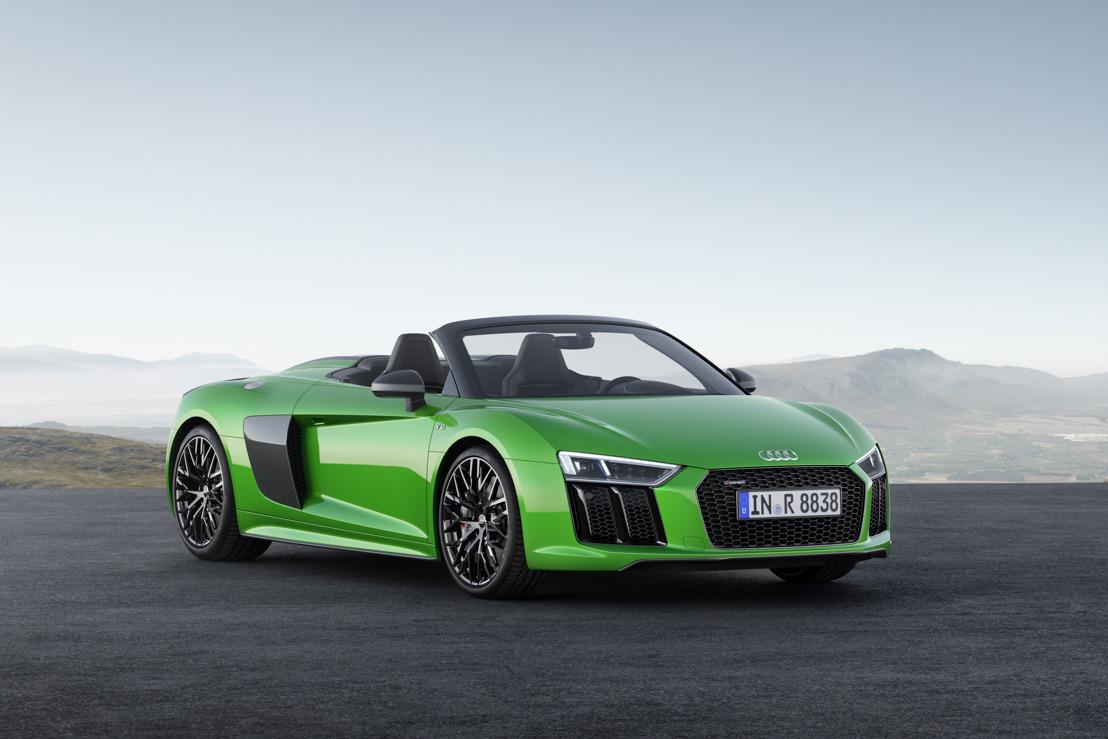Nog meer vrijheid: de Audi R8 Spyder V10 plus