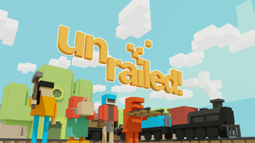 Unrailed! est désormais disponible en accès anticipé sur PC
