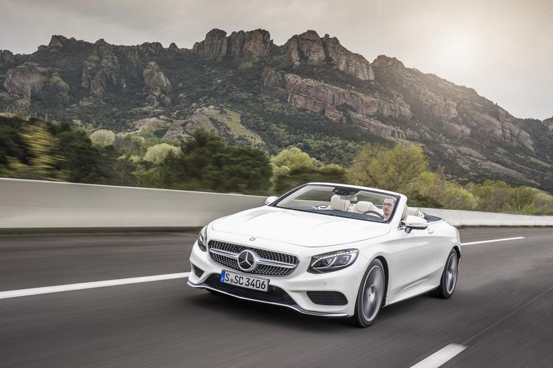 Mercedes cabrio
