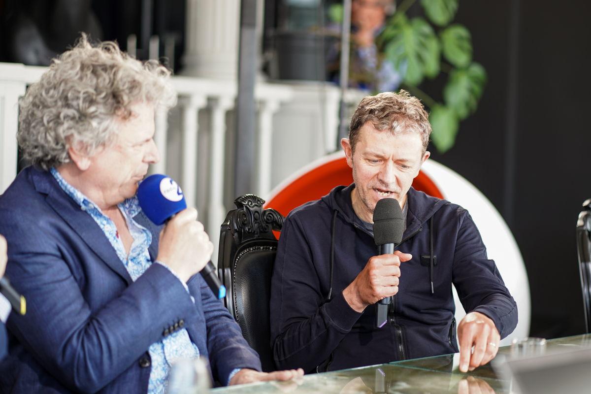 Dirk Somers en Frank Deboosere © Radio 2