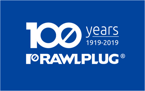 ON ITS 100TH ANNIVERSARY, RAWLPLUG JOINS AND SPONSORS THE BIG 5