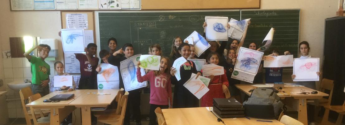 WeGoSTEM laat duizenden lagere schoolkinderen hun eerste robot bouwen