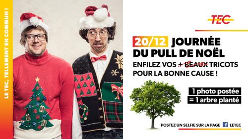 Ce 20/12, portez votre pull de Noël pour la bonne cause !