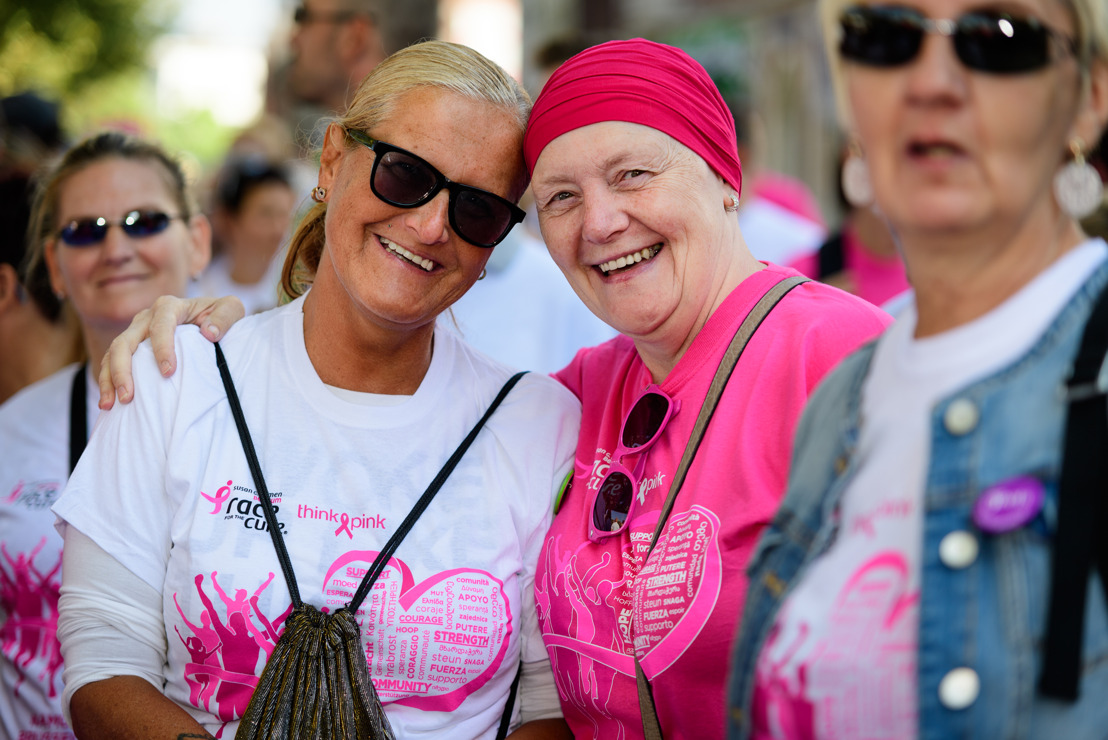 September kleurt roze met de Race for the Cure