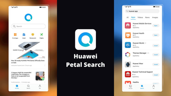Le widget de recherche Petal Search : votre passerelle vers un million d'applications