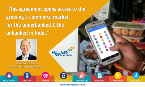 MoneyOnMobile-Enabled Retailers Connected to Growing E-Commerce Market Through Strategic Partnership with ShopClues