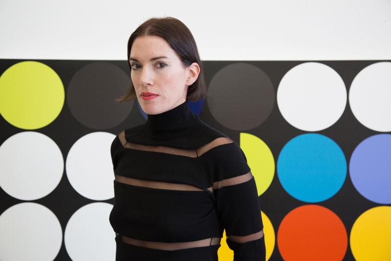 Portrait Sarah Morris (c) Anna Gaskell