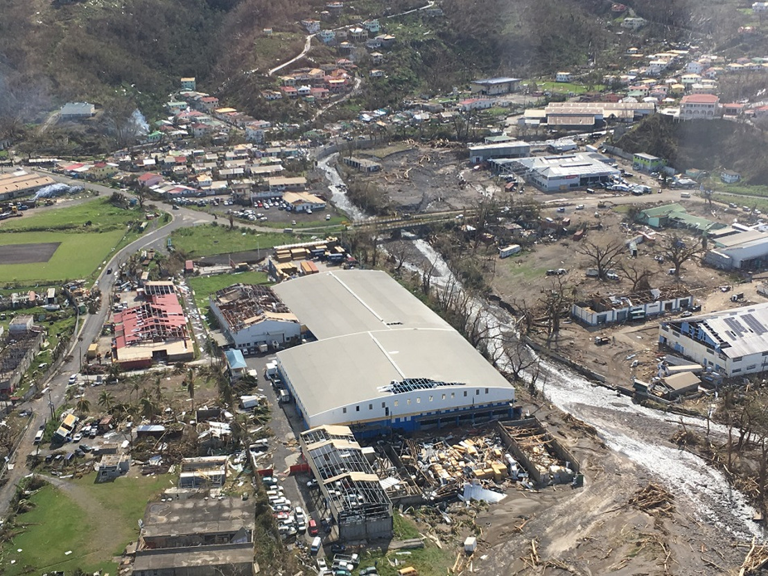 """Dominica post Maria : """"From what I saw the island looks as if there was a fire of wind"""""""