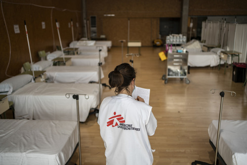 Médicos Sin Fronteras concluye su intervención de respuesta a la COVID-19 en España
