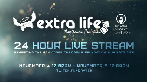 Crytek to Debut Live Hunt: Showdown Gameplay During Extra Life Charity Stream