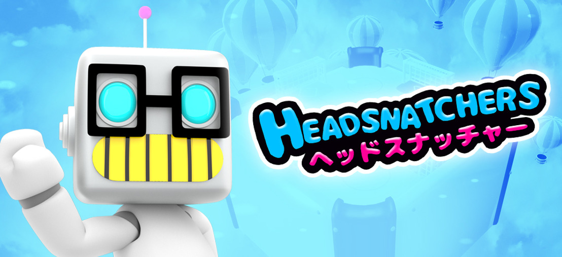 OUT TODAY on PS4 🧁 Multiplayer Madness in Headsnatchers!