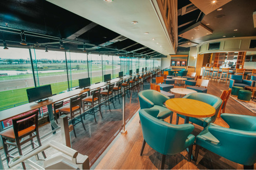 Preview: Woodbine unveils new exclusive Finish Line O&T Lounge for Owners and Trainers