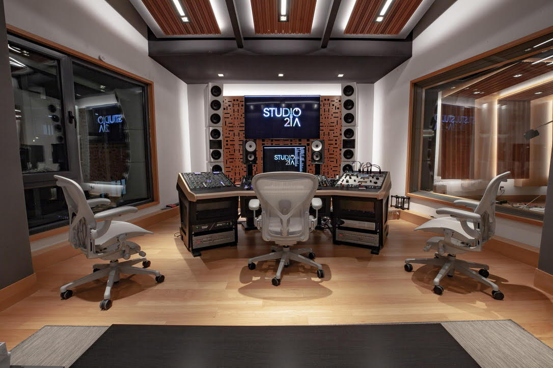 WSDG-designed Studio 21A Mastering Suite in Beijing, China