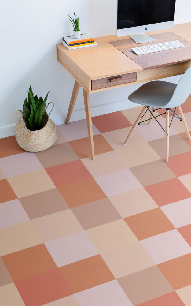 Preview: Playful pixel flooring inspired by the return of 8-bit art