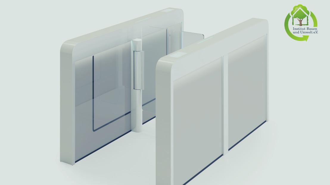 Erste Produktdeklarationen für Sensorbarrieren von dormakaba