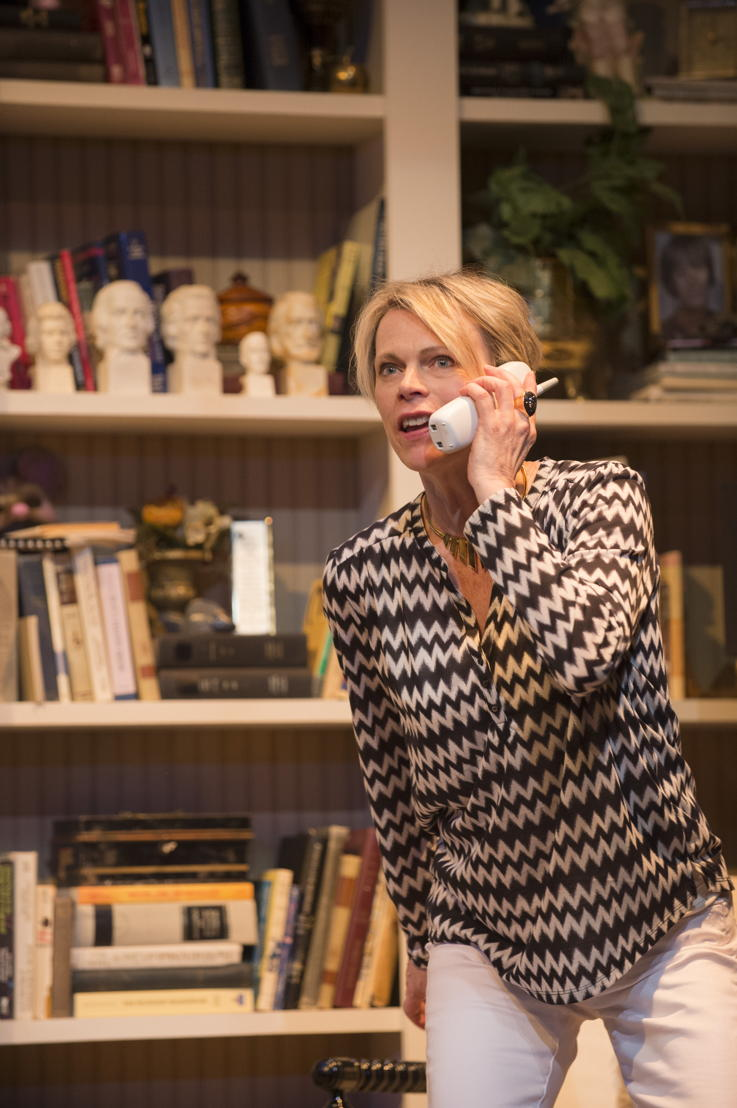 Brenda Robins in Vanya and Sonia and Masha and Spike by Christopher Durang / Photos by David Cooper