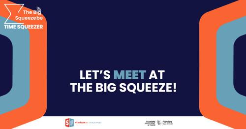 6 start-ups et scale-ups bruxelloises tentent leur chance de remporter un prix lors de l'évènement The Big Squeeze
