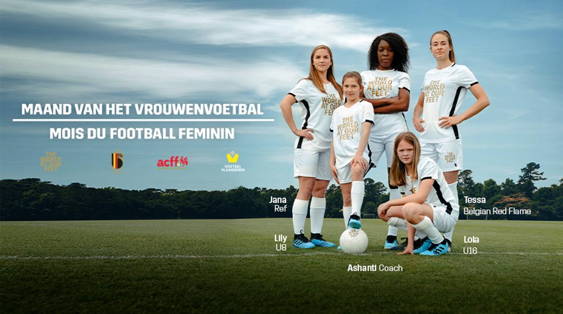 Maand van het vrouwenvoetbal