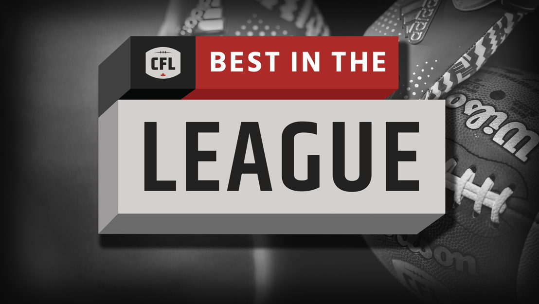 CFL Best in the League logo.