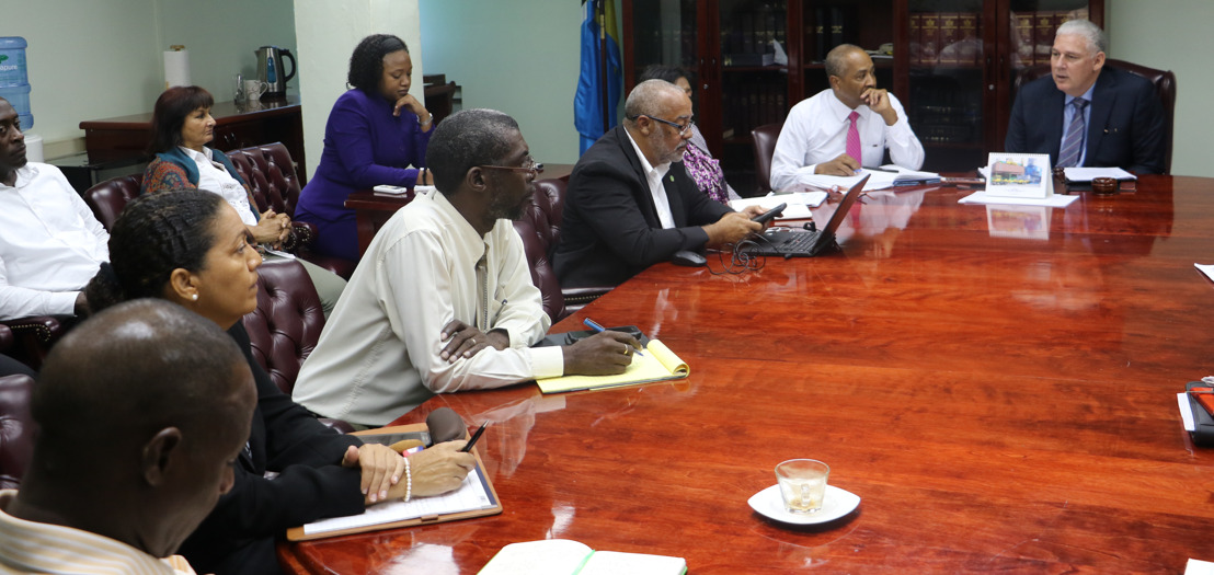 OECS Chairman Conducts Series of Real-time Briefings with Key Disaster Management Officials
