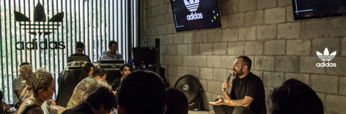 adidas Originals y Alejandro Franco celebran la originalidad en la ciudad tomando la música como eje creativo