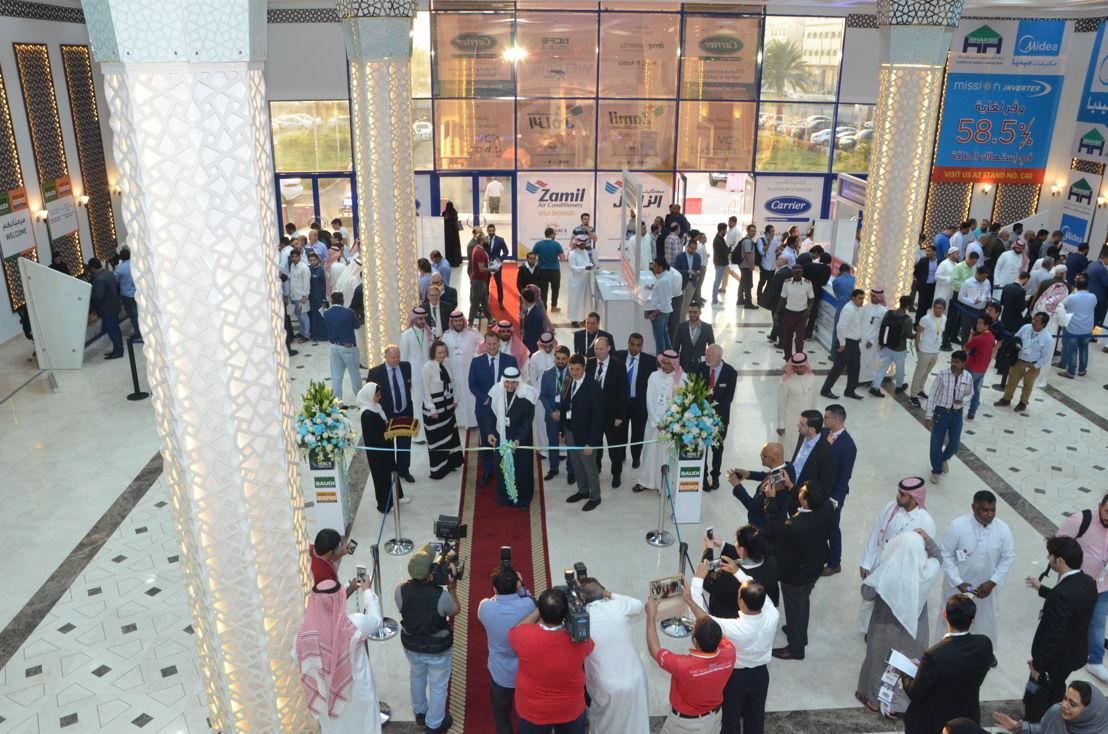 Opening of HVACR Expo Saudi 2018